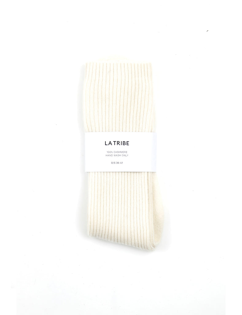 Cashmere Bed Sock Ivory