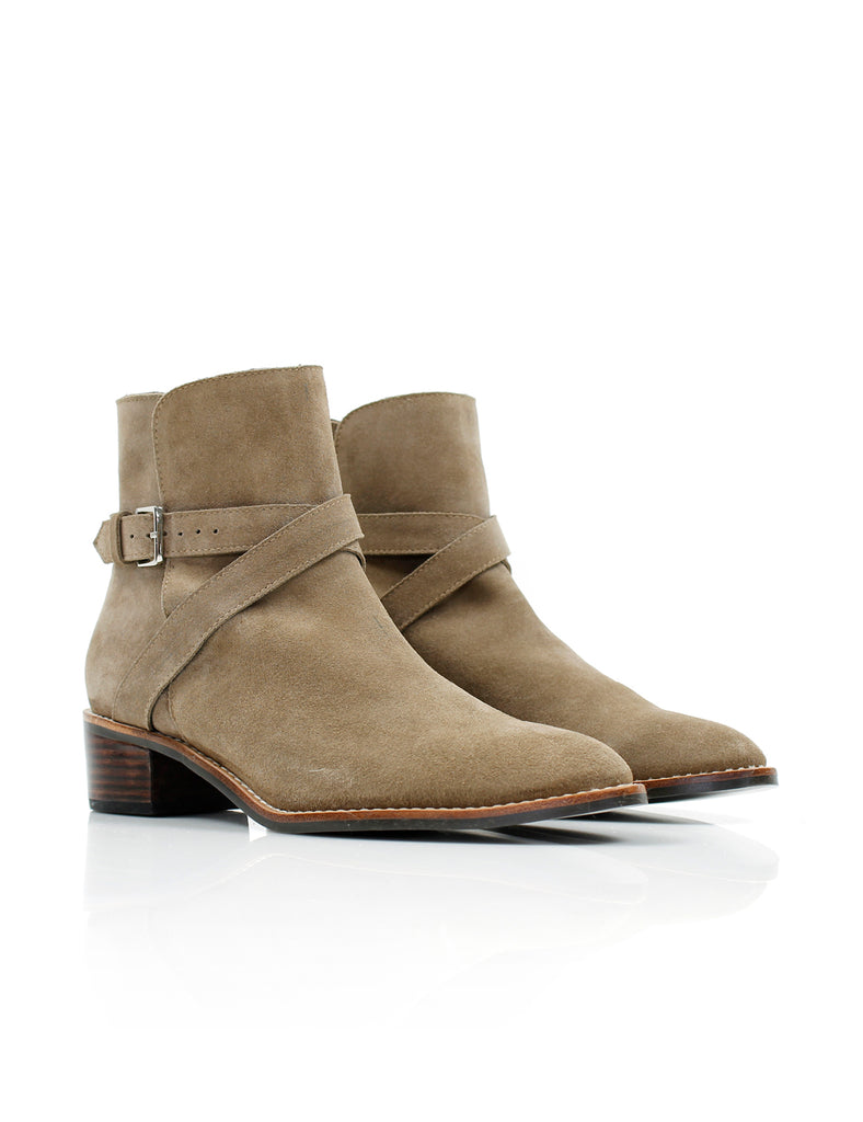 Faye Wrap Boot Taupe