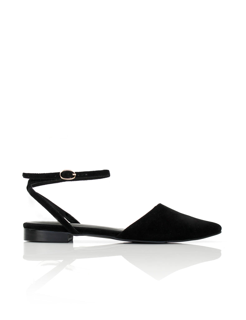 Pointed Flat Black
