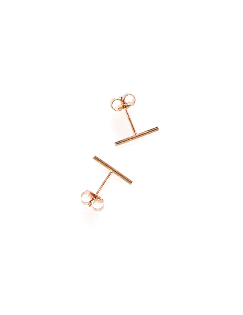 Bar Earring Rose Gold