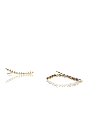 Mini Stud Chain Gold/Olive
