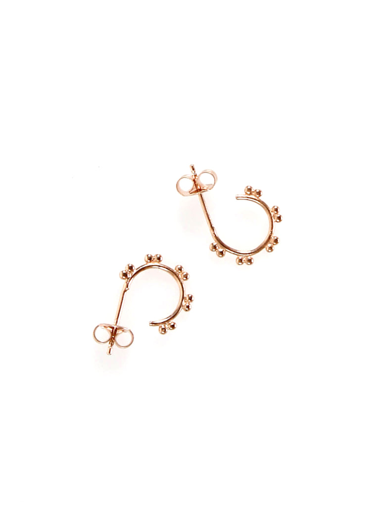 Hoop Earring Rose Gold