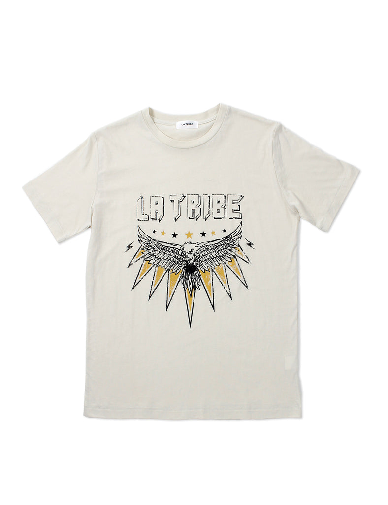 EAGLE TEE CREAM/YELLOW