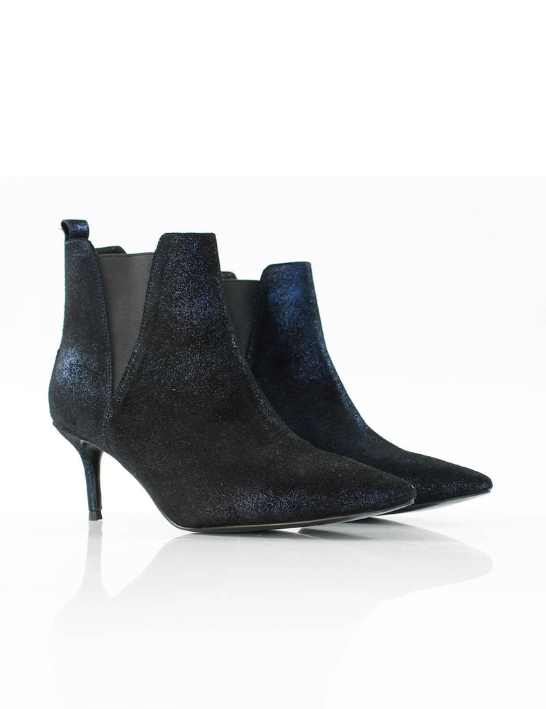 Rock Ankle Boot Glitter