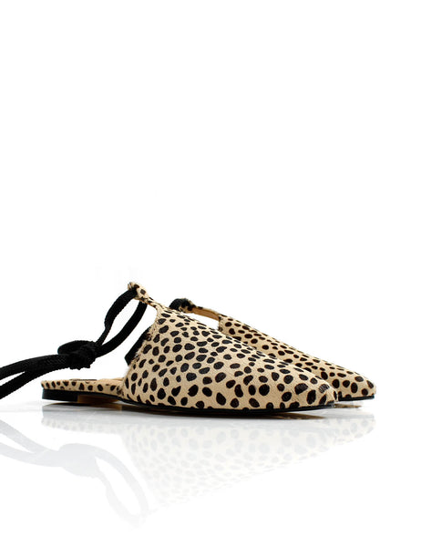 Sahara Lace Loafer Animal