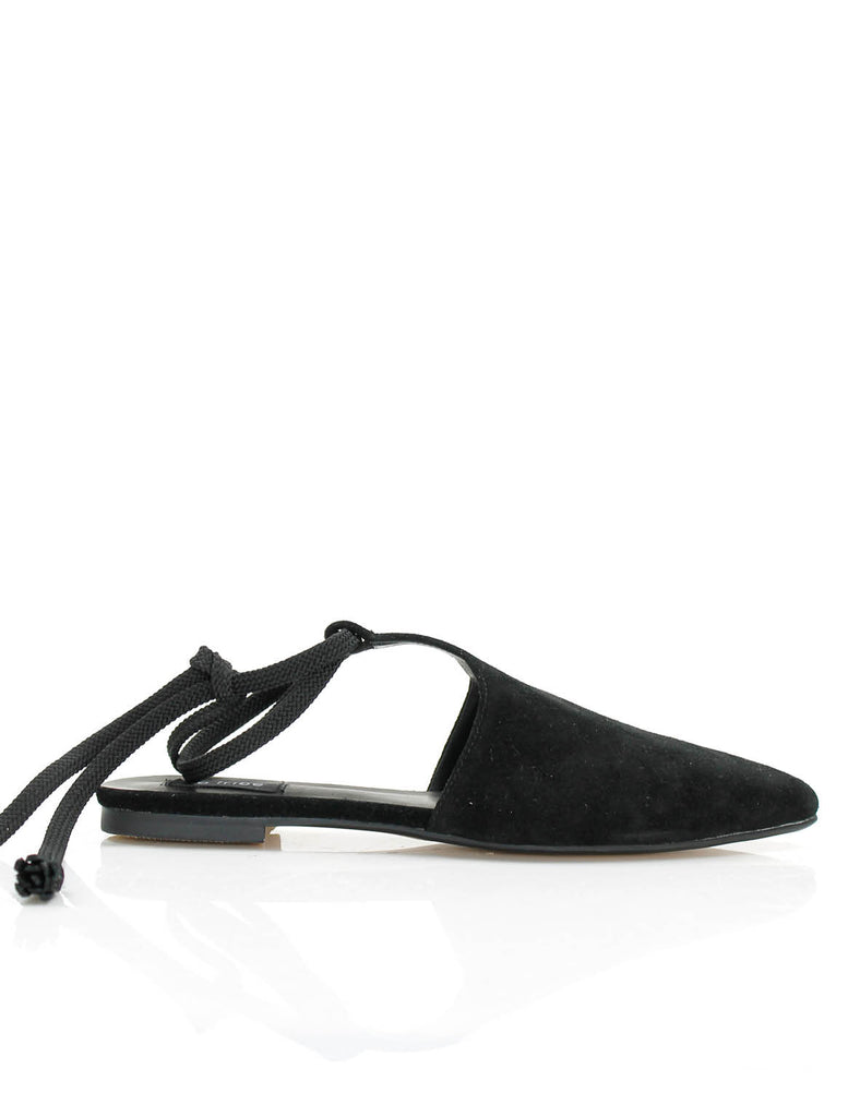 Sahara Lace Loafer Black
