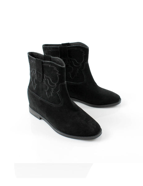 Slouch Boot Black