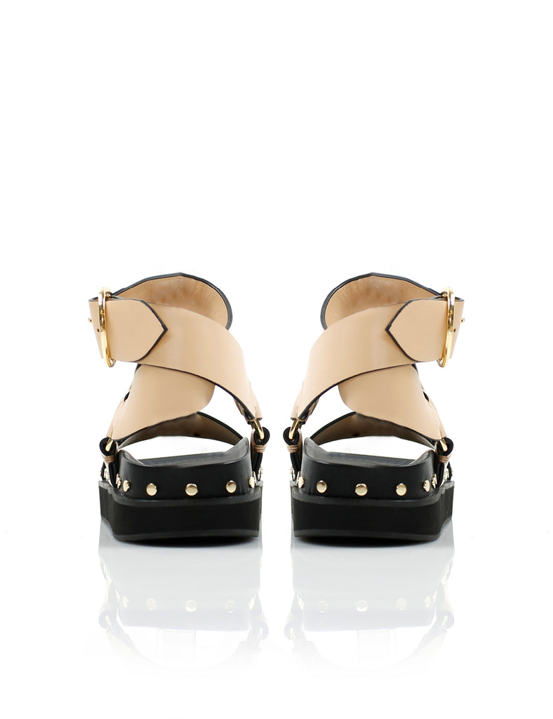 STUDDED SANDAL BLUSH