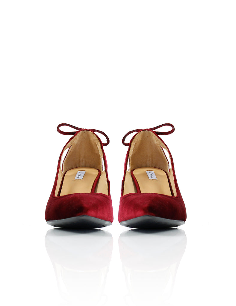 Tassel Heel Red