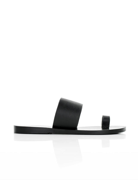 Toe Sandal Black
