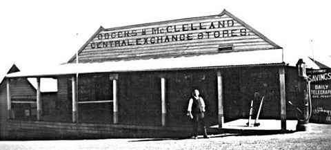 Odgers and McClelland Exchange Stores historic exterior