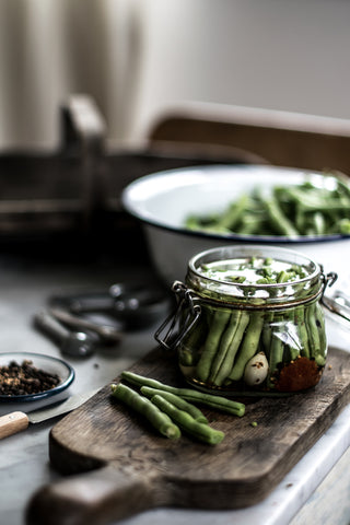 Fermenting pickling and preserving beans