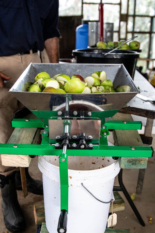 Fruit crusher - Odgers and McClelland Exchange Stores