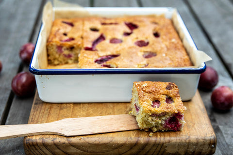 Plum and coconut cake - Odgers and McClelland Exchange Stores