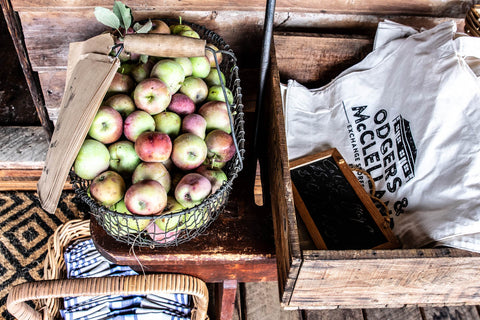 Apple harvest Odgers and McClelland Exchange Stores, Nundle