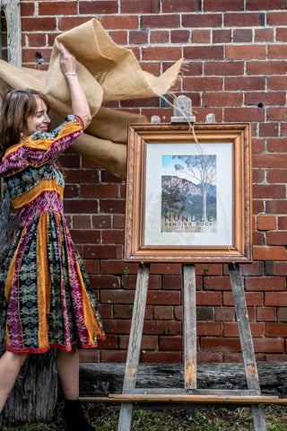 Nundle Hanging Rock Art Print unveiling