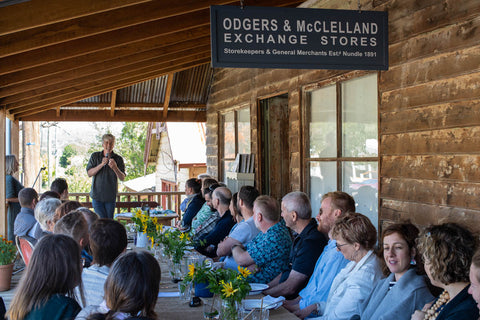 Matthew Evans Book Lunch, Odgers and McClelland Exchange Stores, Nundle