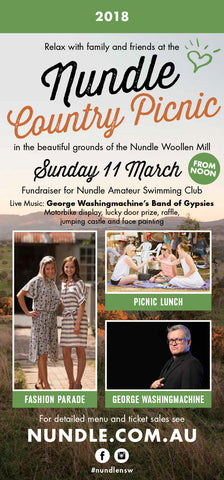 Nundle Country Picnic DL flyer