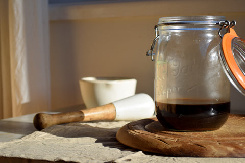 Cardamom coffee syrup, recipe by Sophie Hansen of Local is Lovely blog.