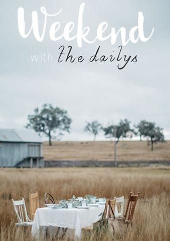 Weekend with The Dailys cover