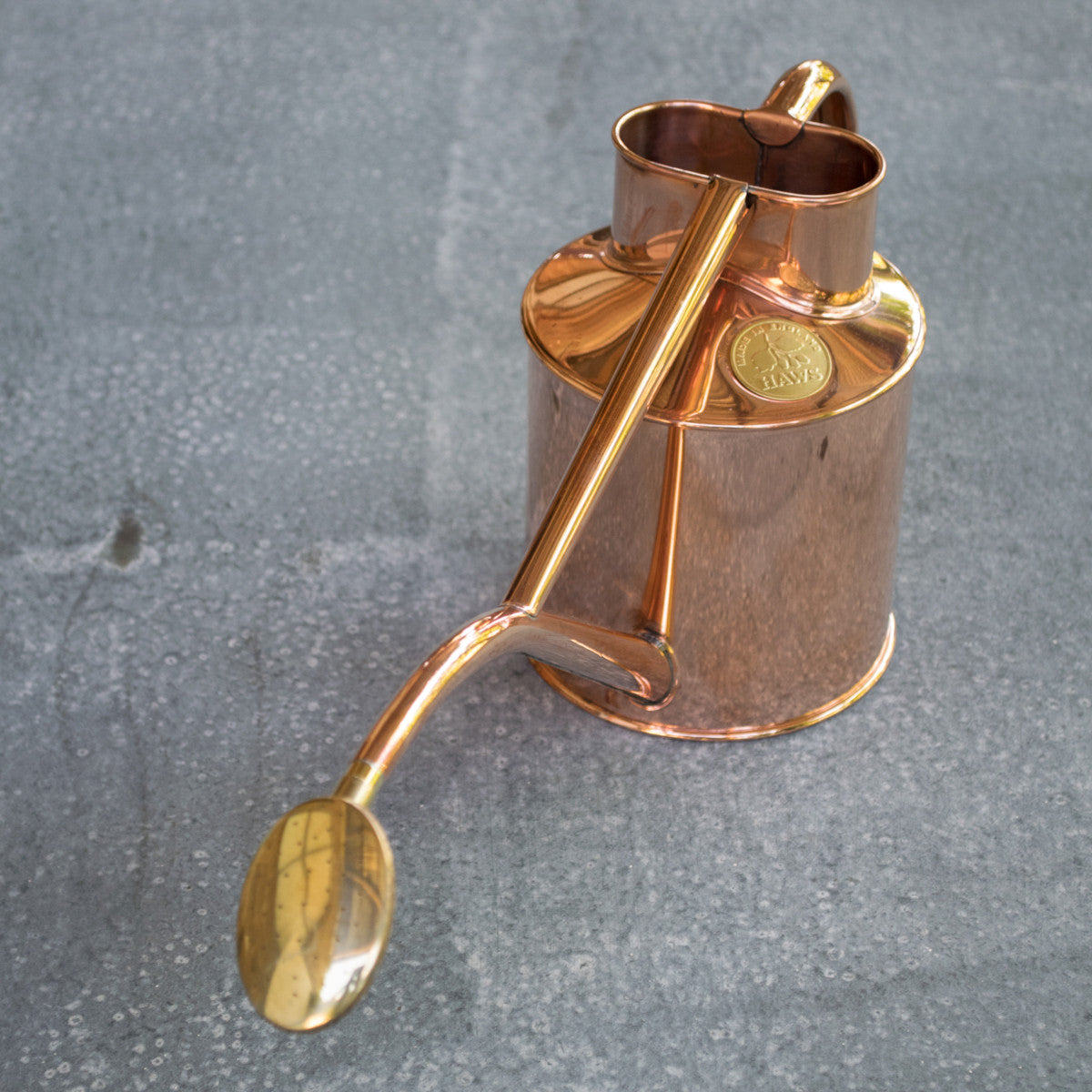 Haws indoor copper watering can 1 litre odgers and mcclelland exchange stores - Haws copper watering can ...