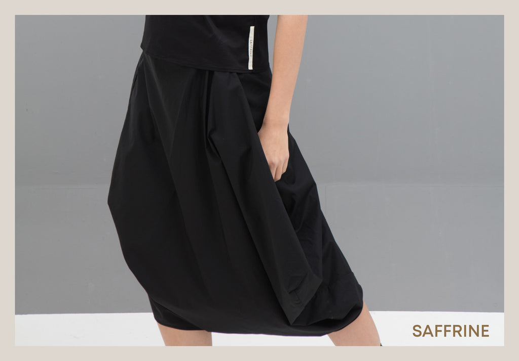 Saffrine Skirts in Red, Black and White