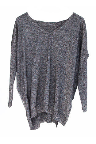 Sweater Casoria in Metal from Lounge the Label