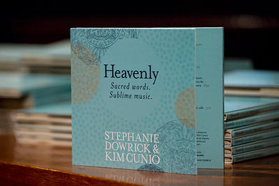 CD Heavenly Sacred words. Sublime music. Stephanie Dowrick