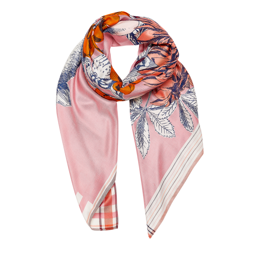 ABÉLARD SCARF PINK from Inouitoosh