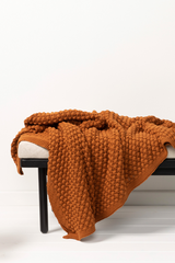 Cotton Popcorn Throws from Indus Design