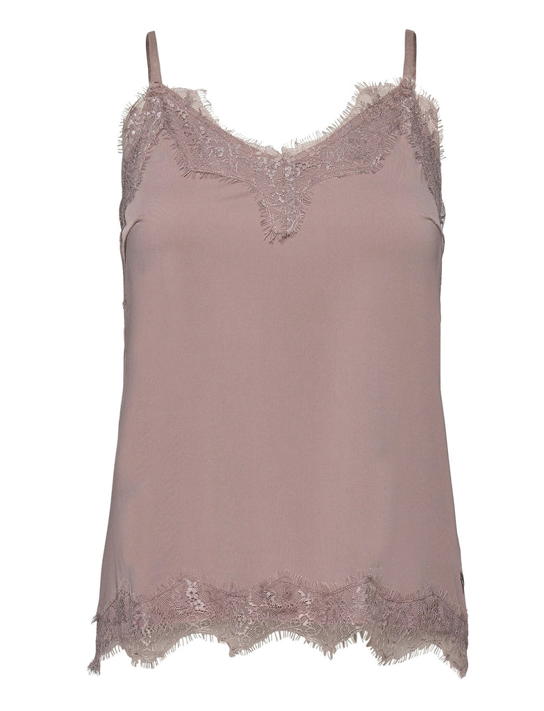 Coster Strap Top w/ Lace