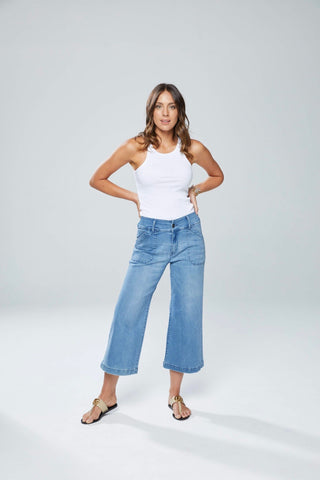 New London Wide Leg Dorset Jeans