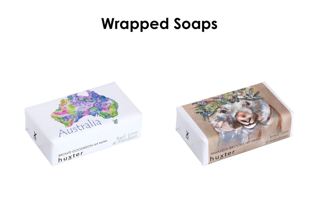Individual soaps from Huxter