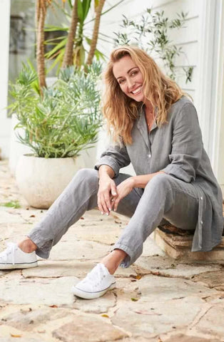 Eadie Linen Lounge Pants