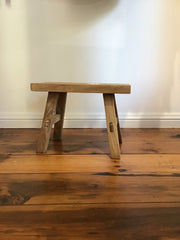 Toddler size wooden stool