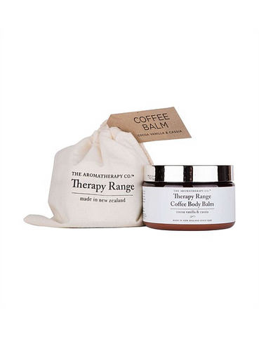 THE AROMATHERAPY CO. AROMA THERAPY COFFEE BODY BALM WITH COCOA VANILLA & CASSIA