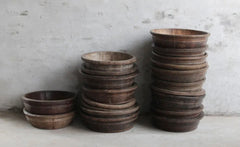 SHANXI WILLOW 100 YEAR WOODEN BASIN