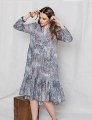 Billie Dress in cotton poplin from Dog and boy in fabric Motion