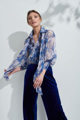 Mills Blue Moon Blouse from Kamare
