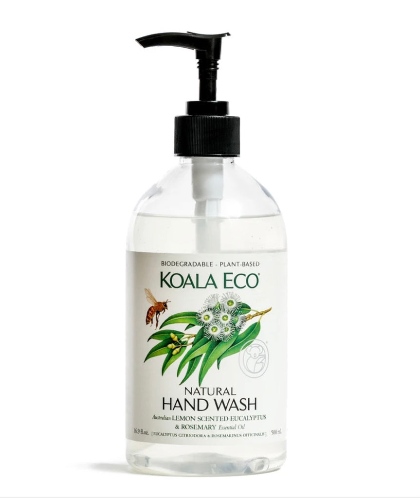Natural Hand Wash (Lemon Scented Eucalyptus & Rosemary)