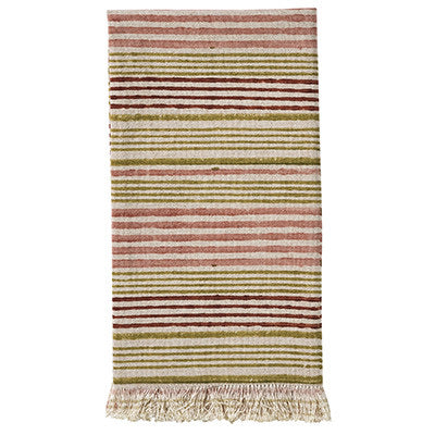 Summerhouse napkins set / 4 in Boxwood stripe