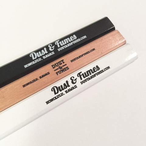 Dust & Fumes Carpenter Pencils Set
