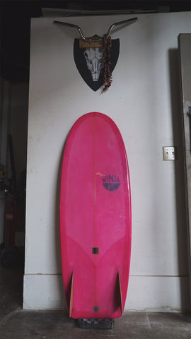 "5'2"" *USED* Modern Mini Simmons - Ninja Surfboards"