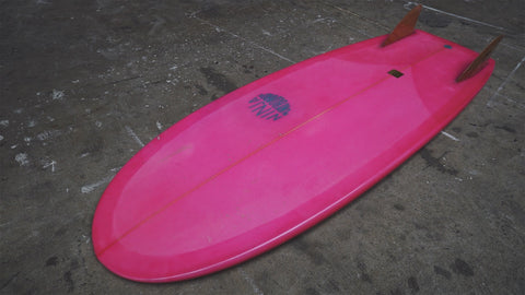 "[SOLD]  5'2"" *USED* Modern Mini Simmons - Ninja Surfboards"