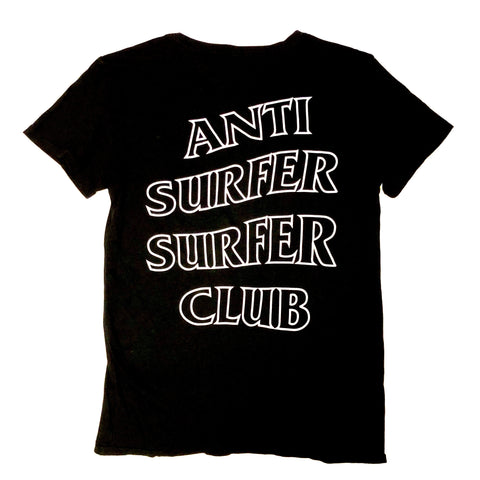 Anti Surfer Surfer Club Outline - Tee