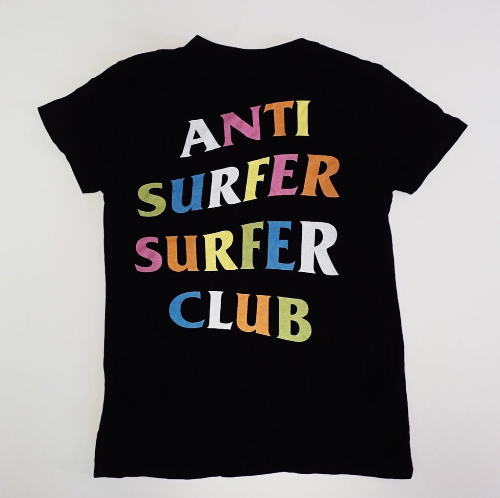 Anti Surfer Surfer Club Rainbow - Tee