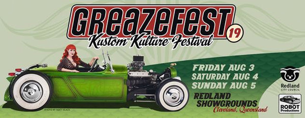Greazefest 2018 that time is nearly here!!