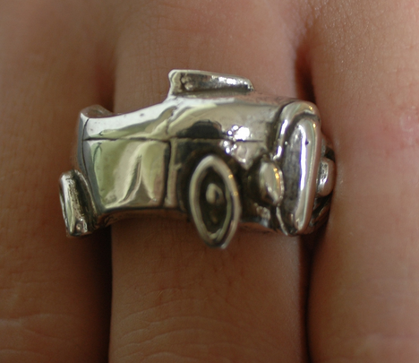 1932 Deuce Roadster Ring Wrap - Wicked Rockabilly & Gifts