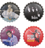 The Beatles  3D Bottle Cap Plaque - Wicked Rockabilly & Gifts - 3