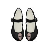 Daisy Skull  Mary Jane Flats